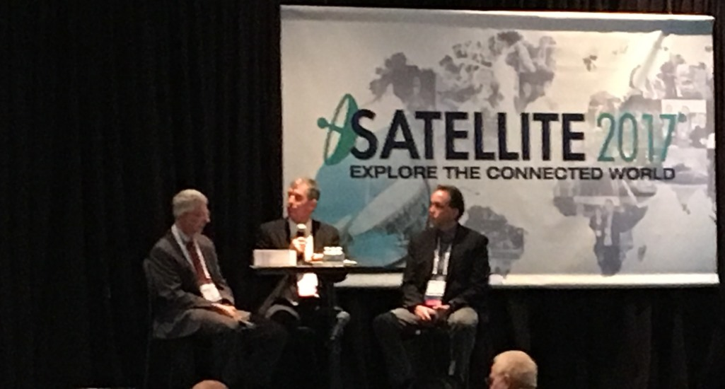 Anokiwave's David Corman speaks at SatShow2017