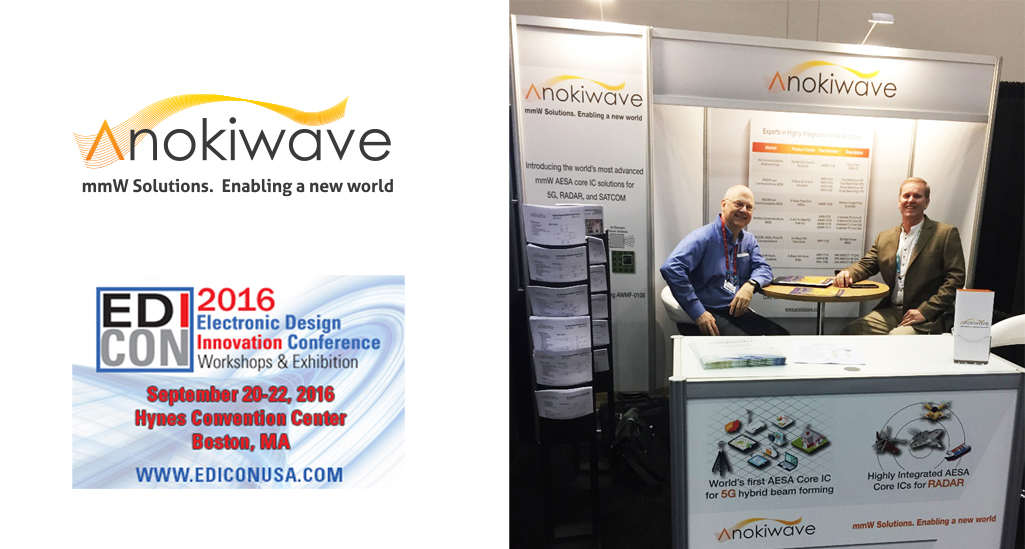 Anokiwave at EDICON2016