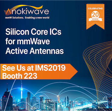Anokiwave | Full mmWave Portfolio at IMS2019